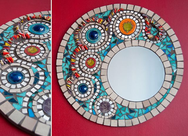Espejos En Mosaiquismo Buscar Con Google Mosaicos