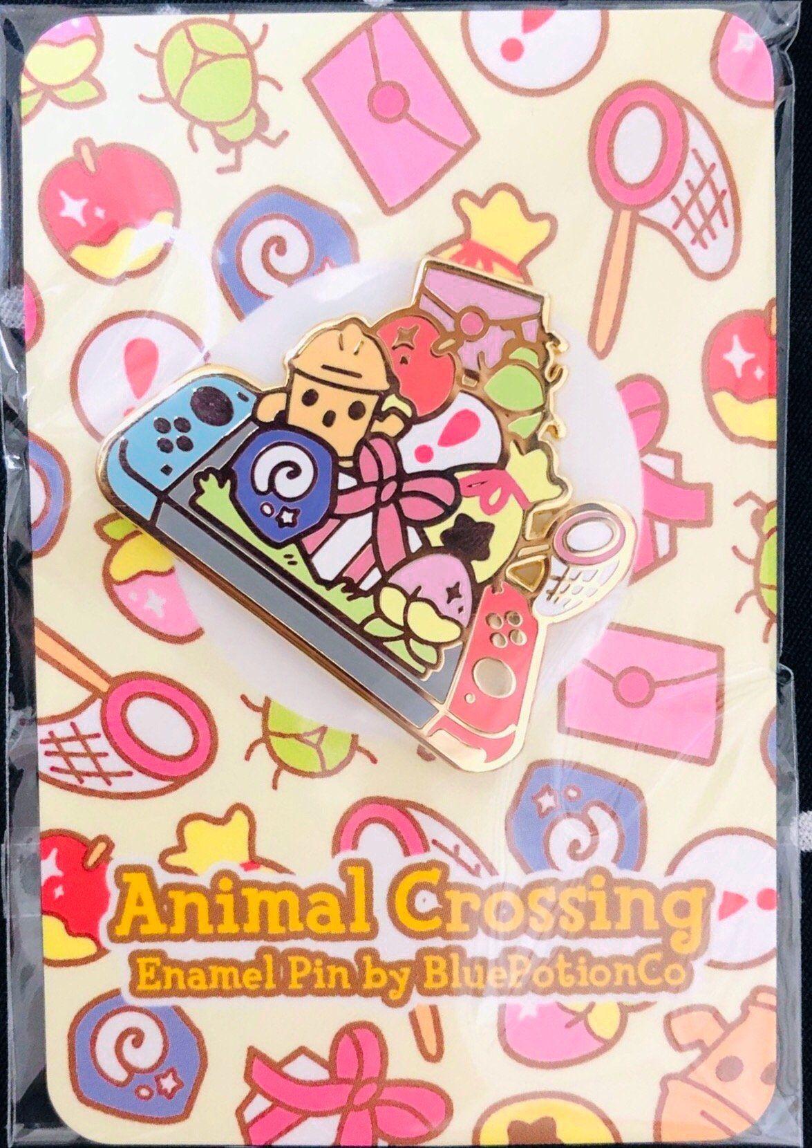 PRE-ORDER Animal Crossing Switch 2019 Hard Enamel Pin