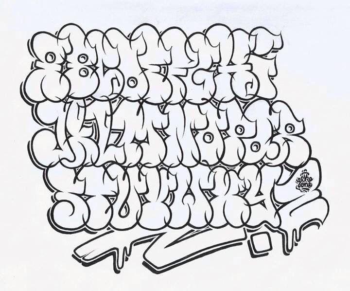 Graffitti Alphabet Graffiti Lettering Graffiti Text