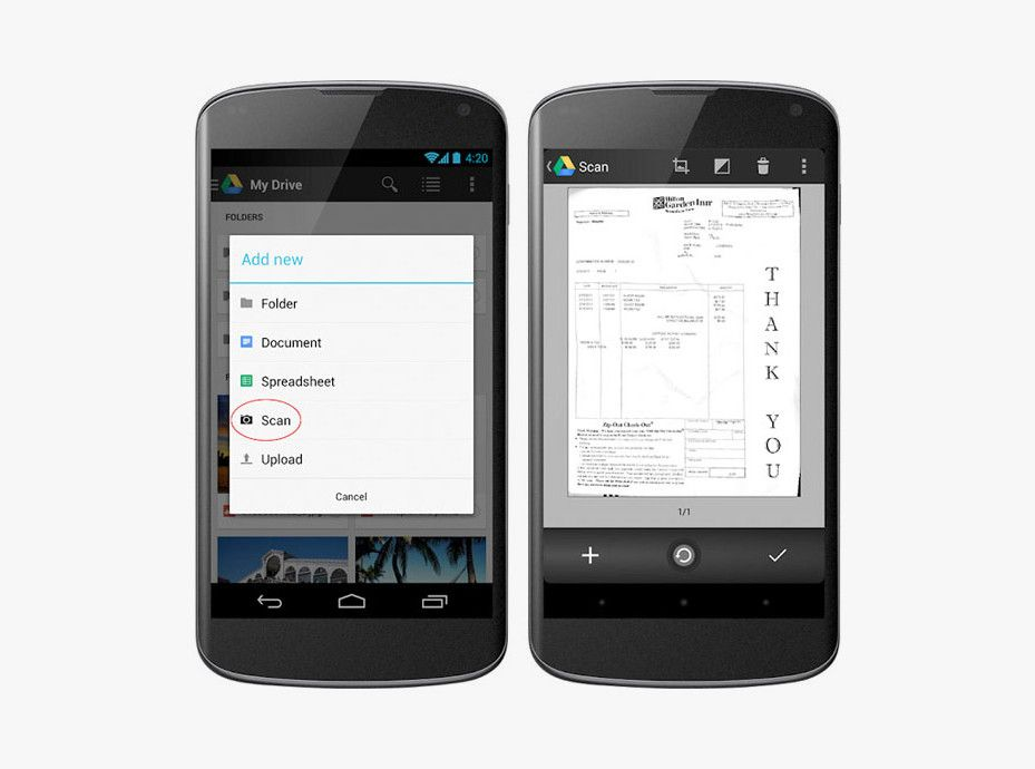 Google Drive Lets You Scan and Search PDFs on Your Android