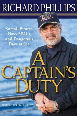 A CAPTAIN'S DUTY by Capt. Richard Phillips of the Maersk/Alabama is being adapted for a screen release in October. Read it first: http://vapld.aquabrowser.com/?itemid=|library/marc/val-horizon|1055215