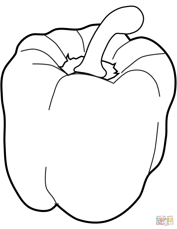 Image Result For Bell Pepper Outline Drawing