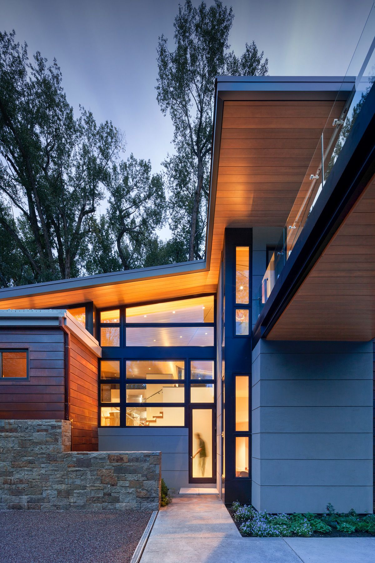 Ccy architects woody creek architect modern exterior