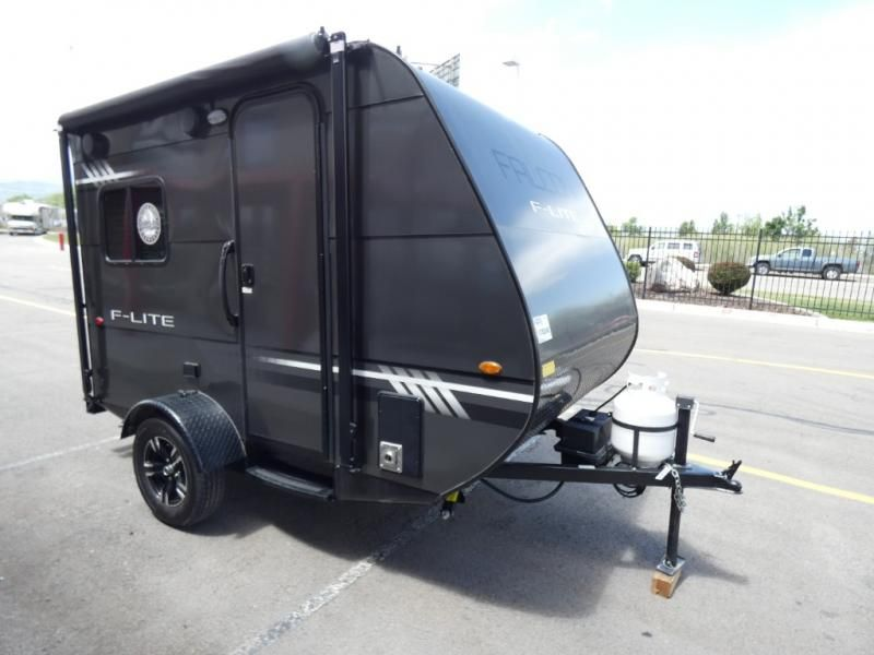 Used 2018 Travel Lite Falcon F Lite Fl 14 Travel Trailer At