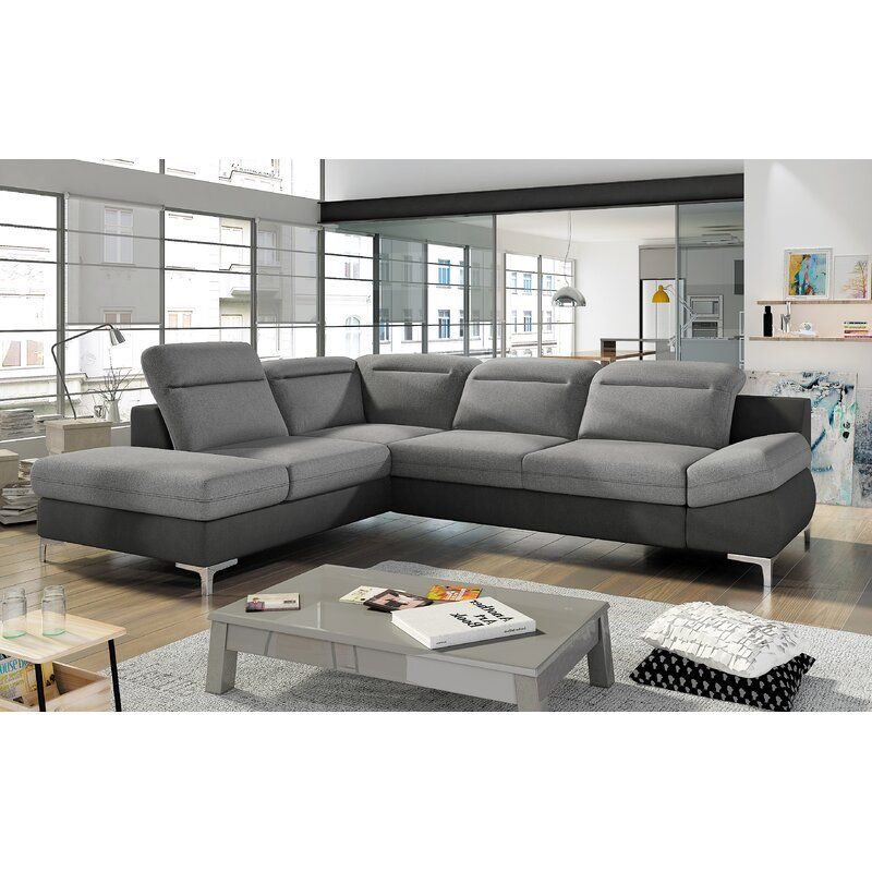 Orren Ellis Tisdall Sleeper Sectional Wayfair Corner Sectional Sofa Sectional Sofa Couch Sectional Sleeper Sofa