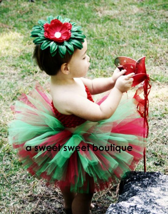 Flor Pascua Disfraces Pinterest Christmas Costumes Baby Girl
