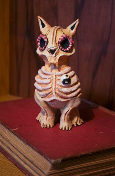 Skull cat-Dua