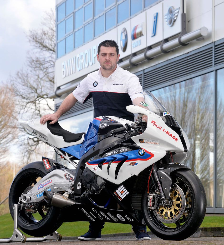 Michael Dunlop and BMW.