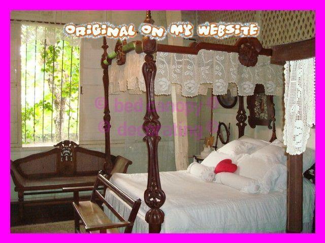 Photo of Bed Canopy romantische Gardinenstangen – Bed Canopy diy, Bed Canopy Kinder, Bed …