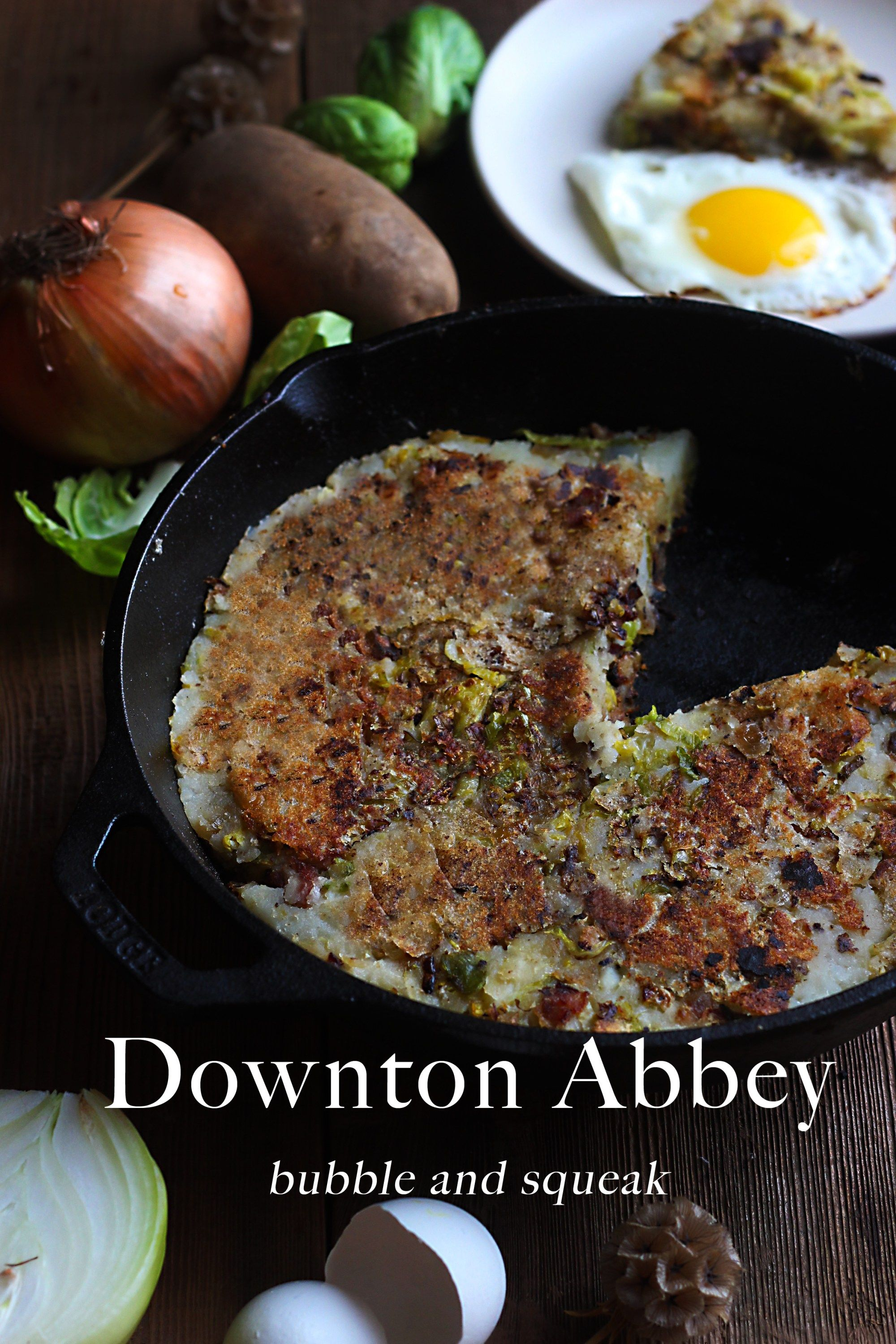 Downton abbey bubble and squeak brekkie pinterest downton food forumfinder Image collections