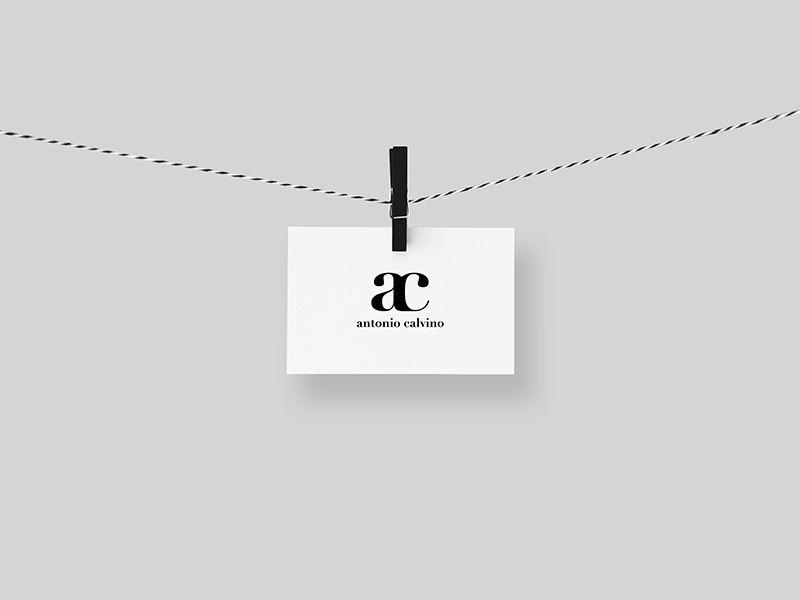 Student And Graphic Designer Freelancer Www Antoniocalvino Com Business Card Design Graphic Design Creative Design