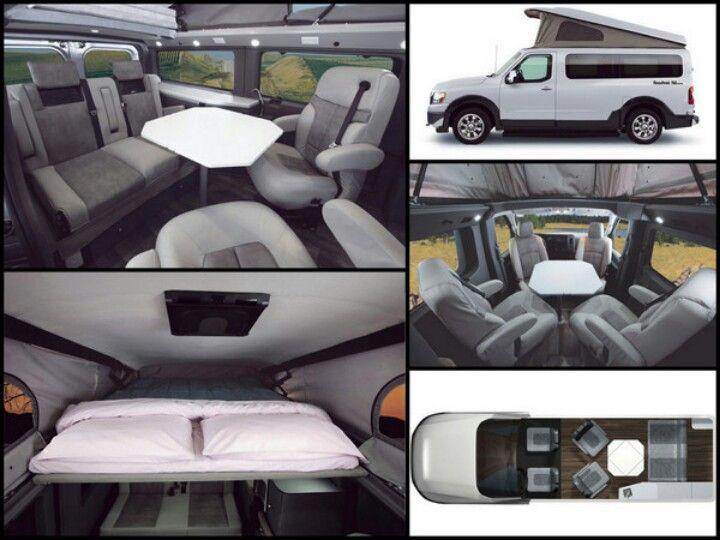 Roadtrek Rv Conversion Of The Nissan Nv2500 Credit Roadtrek Rv