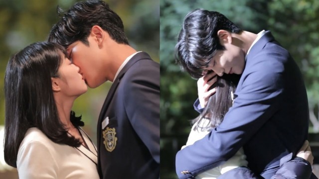 Watch Sf9 S Rowoon And Kim Hyeyoon Look All Adorably Shy For Their Kiss Scene In Extraordinary You Extraordinary Moments Extraordinary Korean Drama Romance