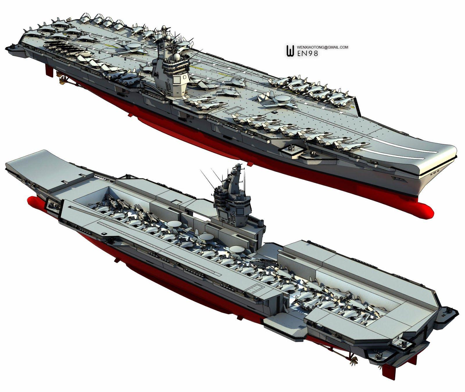 Chinas Future Aircraft Carrier Battleship Pinterest