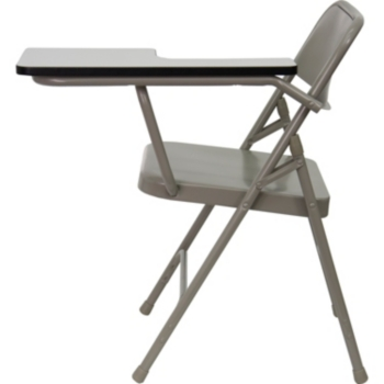 Brilliant Premium Steel Folding Chair With Left Handed Tablet Arm Alphanode Cool Chair Designs And Ideas Alphanodeonline