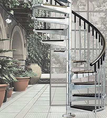 exterior spiral staircase kits uk - Google Search | Staircases ...