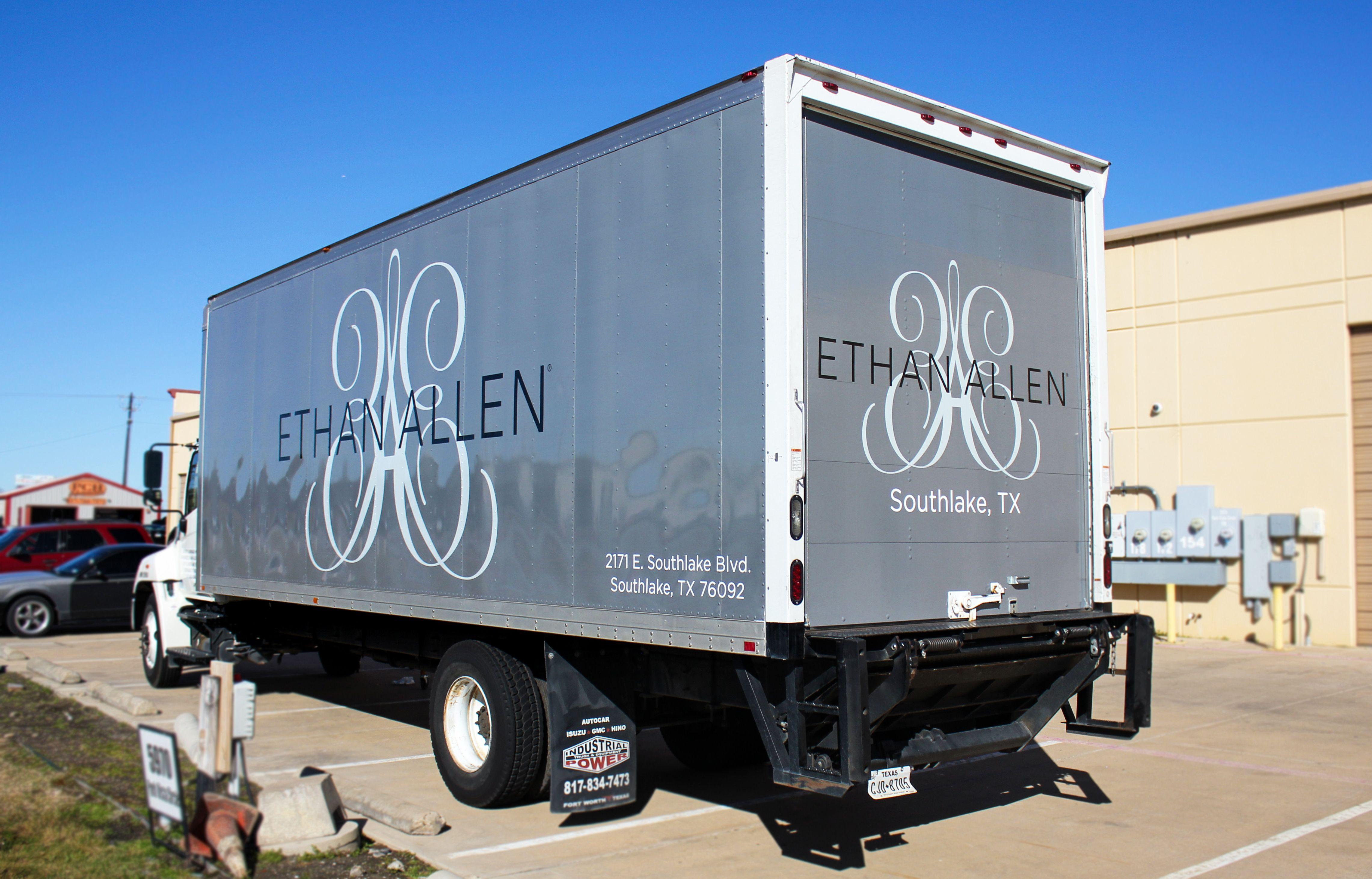 Furniture Store Moving Trucks
