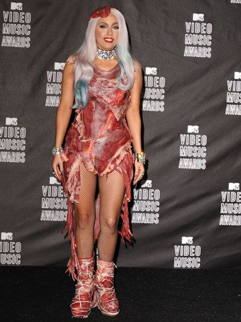 Lady Gaga's 10 Craziest Outfits Of All Time - iVillage