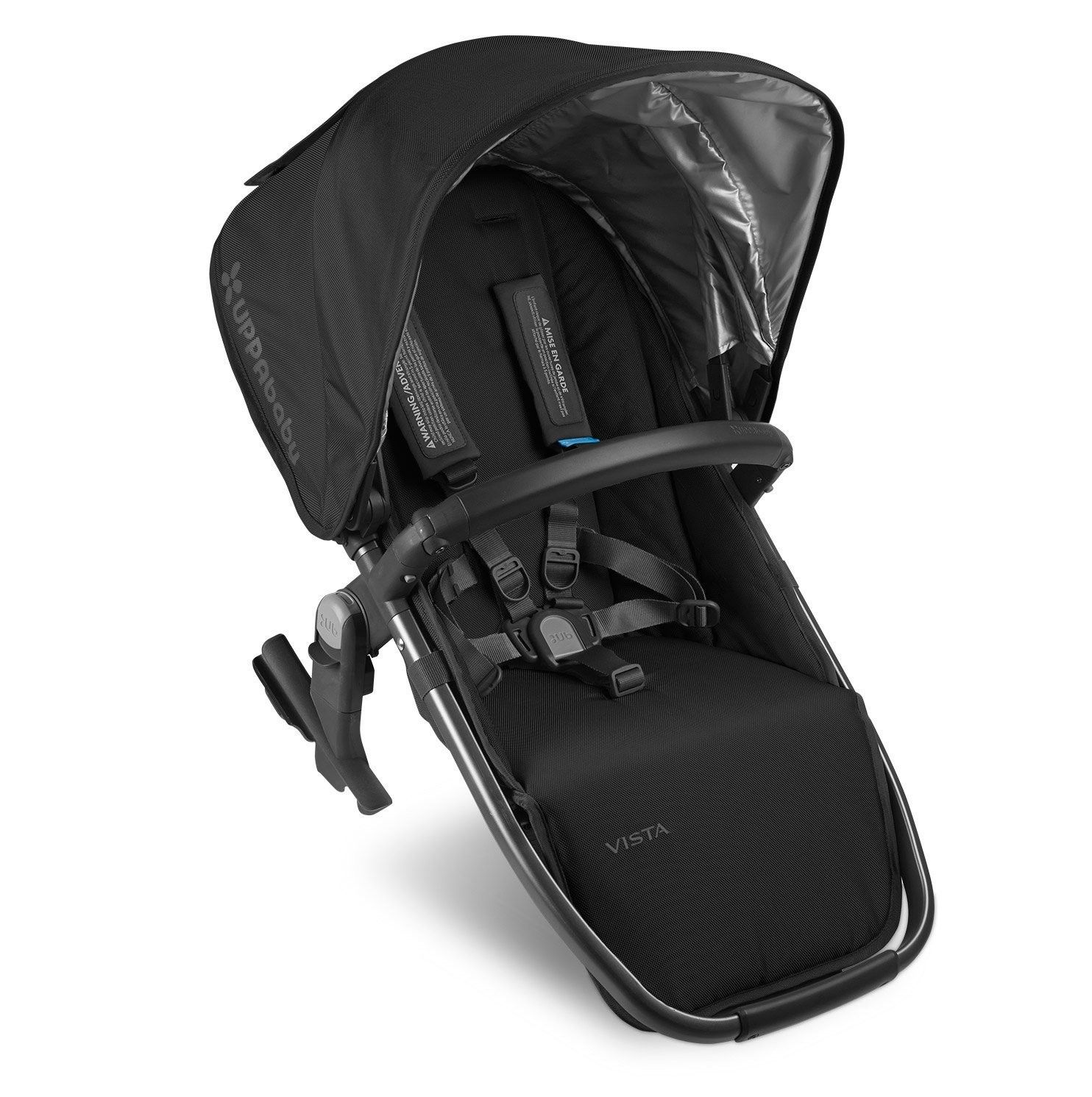 UPPAbaby 2015 Vista Rumbleseat - Denny (Red w/ Silver Frame) | Strollers | Comfort First