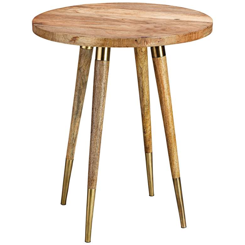 Owen 19 Wide Natural Wood Round Modern Side Table 11r17 Lamps Plus Side Table Wood Round Modern Side Tables Modern Side Table