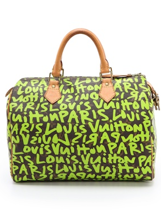 1aef36f1430 love this Louis Vuitton and Stephen Sprouse collaboration graffiti bag  http   rstyle.