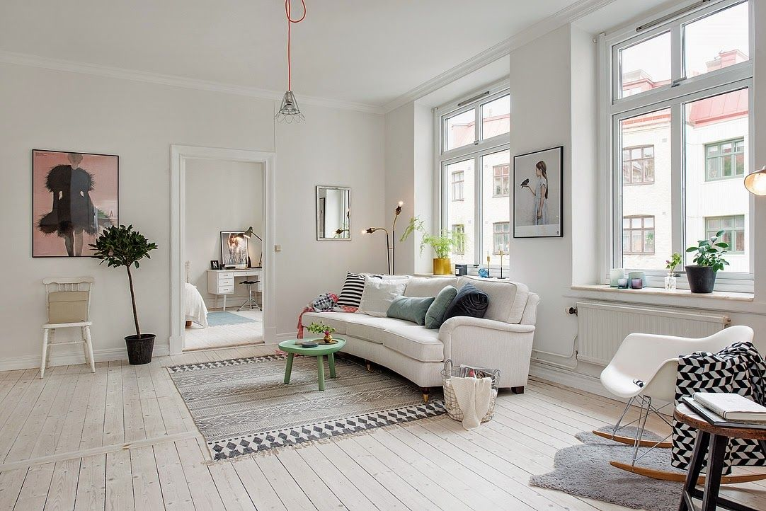 my scandinavian home The blonde nordic apartment °°Cosy Living