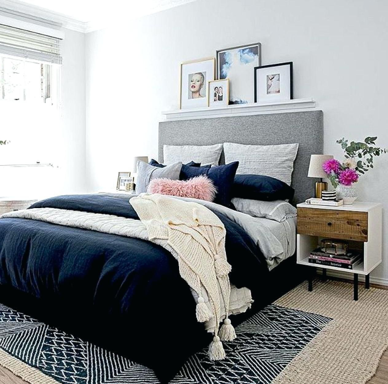 Magnificent Blue And Grey Bedroom Of Navy Gray Navy Gray Navy