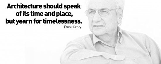 Architecture should speak of its time and place but - Greatest architects of all time ...