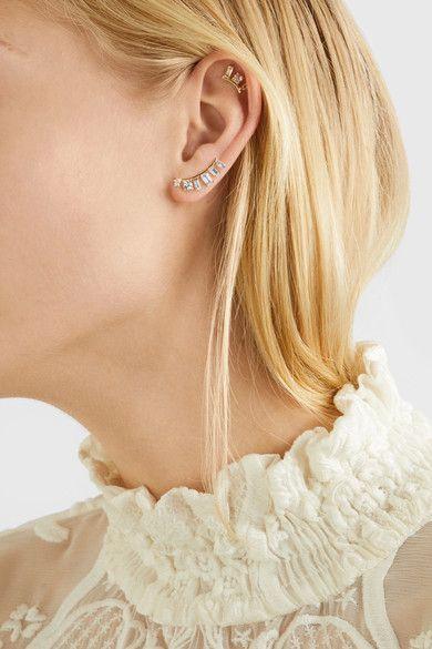 Loren Stewart | 14-karat gold multi-stone earring | NET-A-PORTER.COM