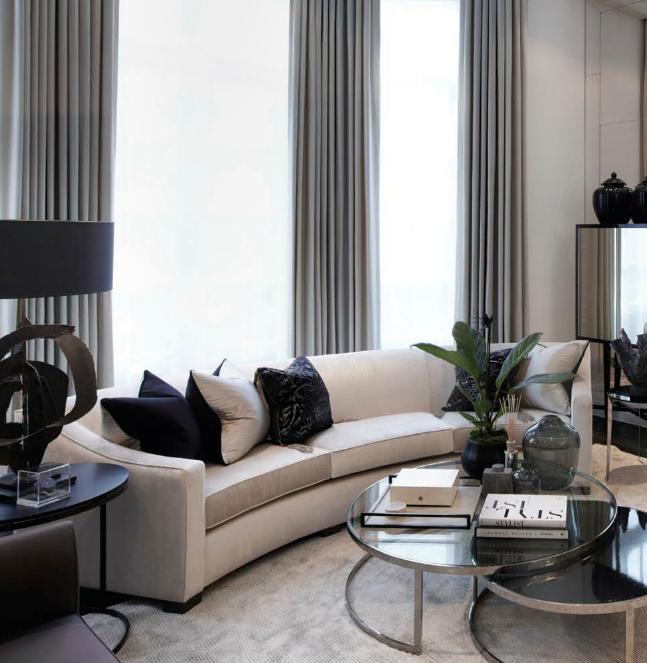 Curved Sofa | New house furniture ideas | Pinterest | Sofá curvado ...
