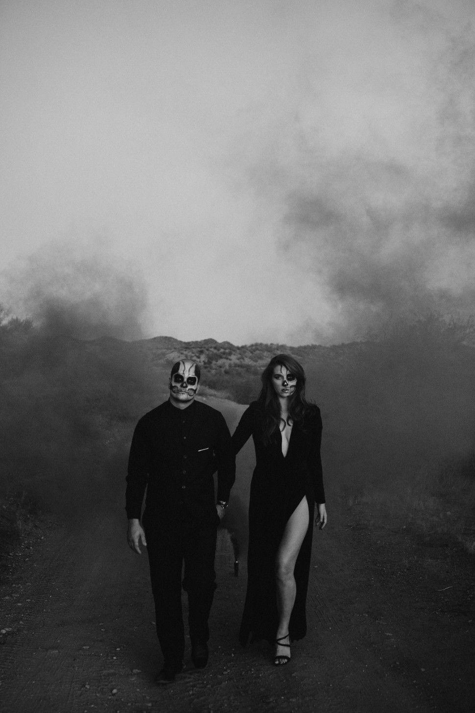 Halloween photoshoot 🎃 Smoke bomb 🖤 Skeleton couple 💀 IG: @tnishadawsonphotography #arizonaphotographer #azphotog #arizonalgbtqphotographer #arizonalove #allblackeverything #bandw #blackandwhitephotography #blackweddingdress #bride #darkandmoody #desertdreaming #elope #elopementphotographer #fall #halloween #halloweenphotoshoot #halloweencouple #photographyismagic #photographthesoul #portraits #rawemotions #radcreative #shotwithlove #skullmakeup #spookyseason #spookycouple #skeletoncouple