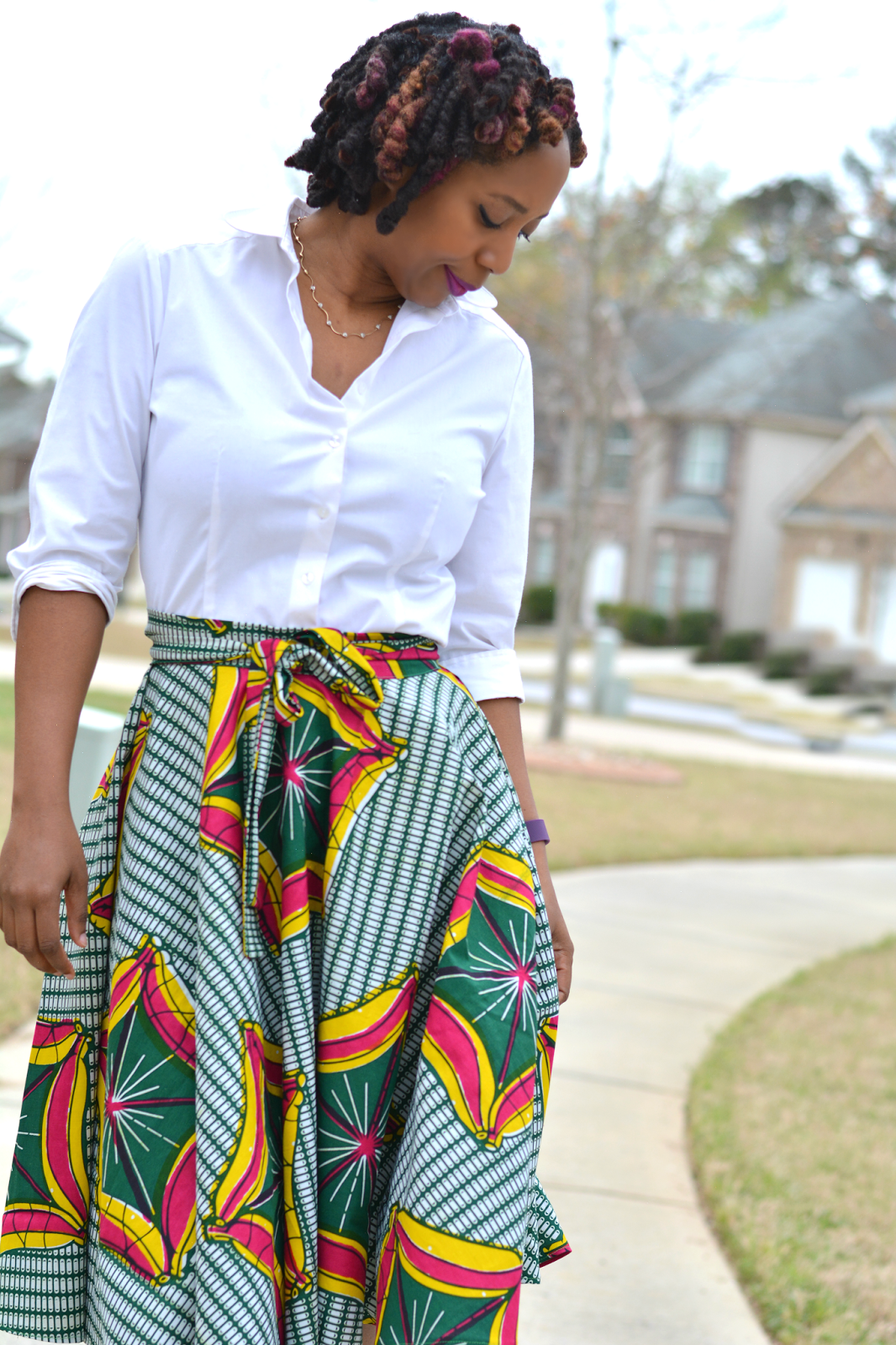Diy african print skirt african print skirt fashion sewing and diy african print skirt made with mccalls 4875 very easy to sew full skirt pattern jeuxipadfo Images