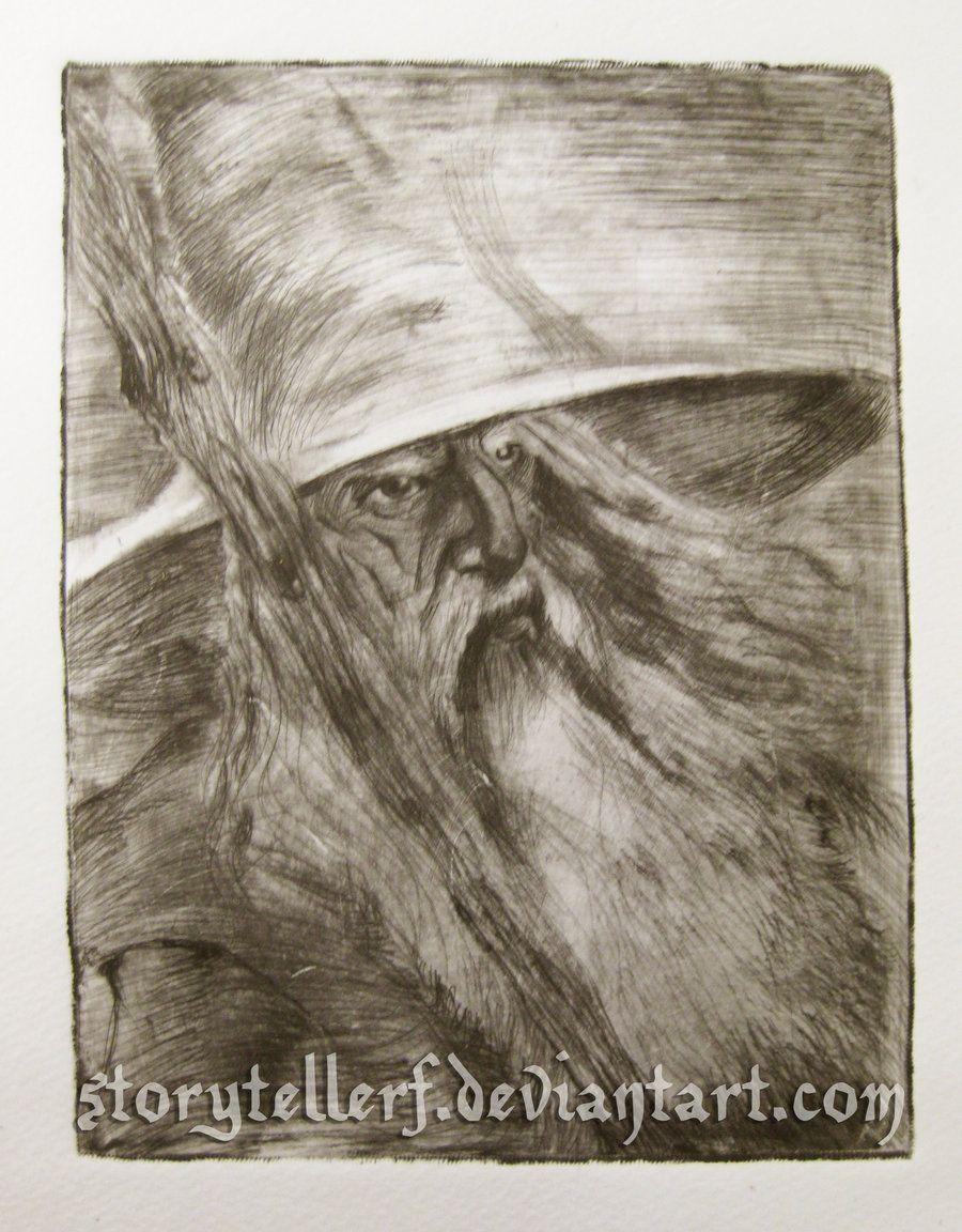 Gandalf by ~StoryTellerF on deviantART