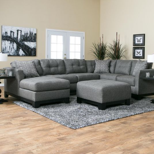 Romero Living Room Sectional  Jerome's Furniture  Living Room Enchanting Living Room Couches Inspiration Design