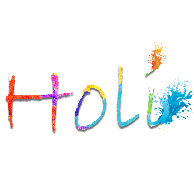 Happy Holi Png Text