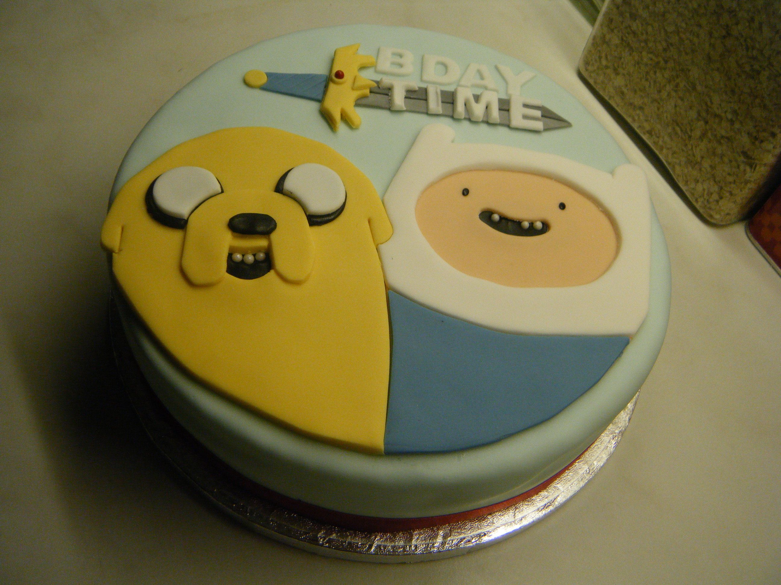 Adventure Time Birthday Cake | Birthday Cake Photos | Fun food for ...