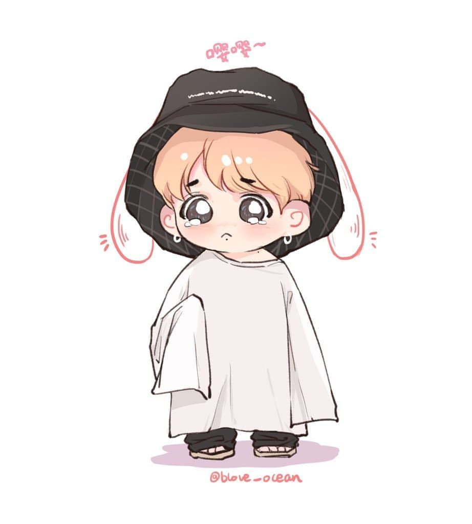 Pin By Aaron Jean Louis On Bts Bts Chibi Chibi Bts Fanart