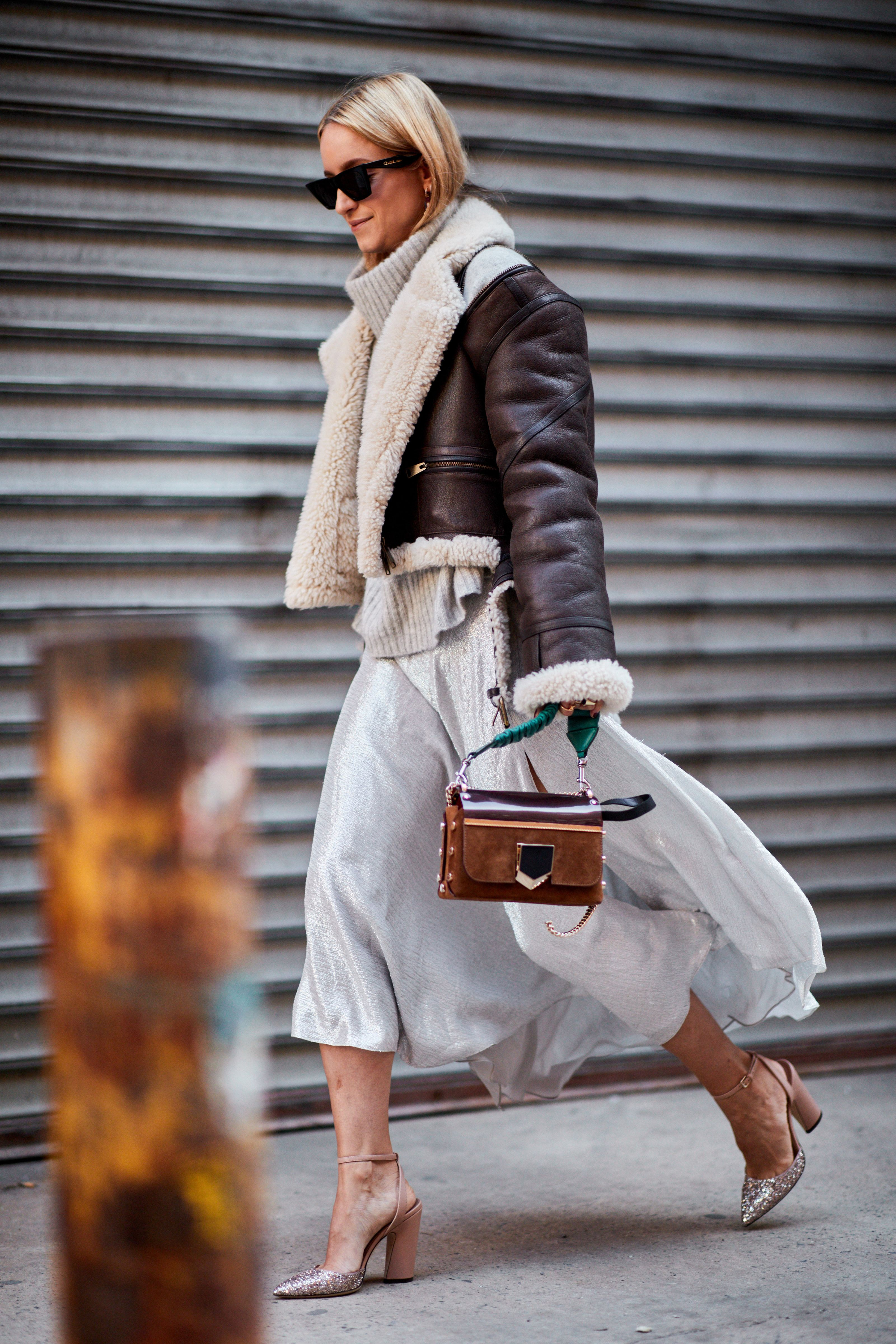 Fashion week Spring nyfw brightest street style moments for girls