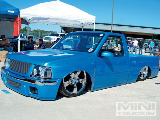 Isuzu Custom Lowrider Trucks Mini Trucks Lowered Trucks