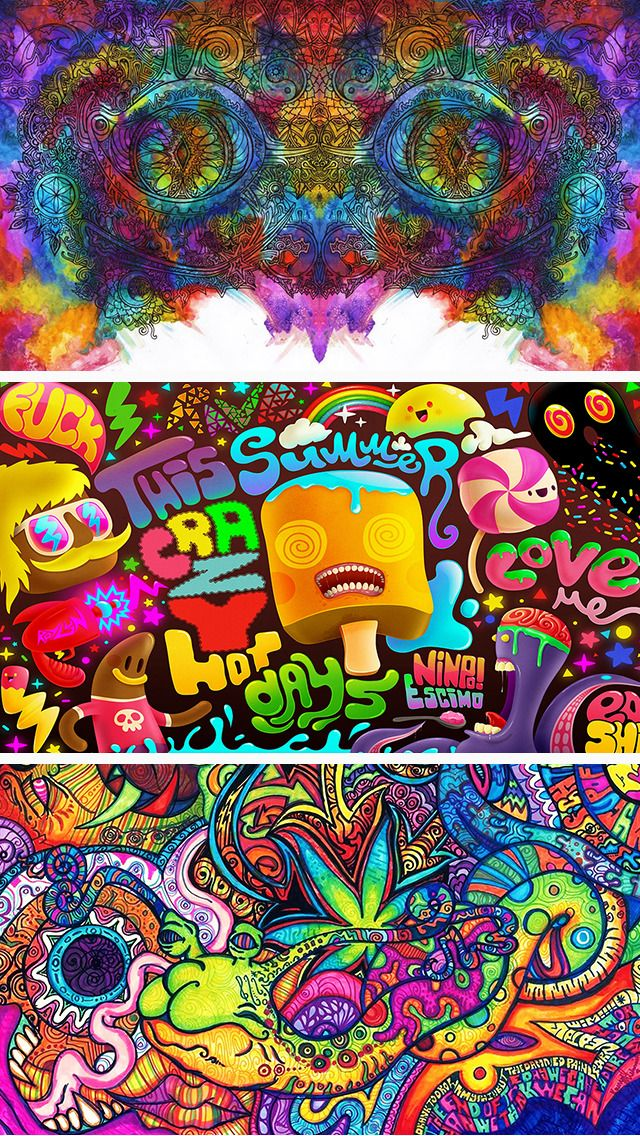 Trippy Wallpaper Psychedelic Wallpaper Backgrounds