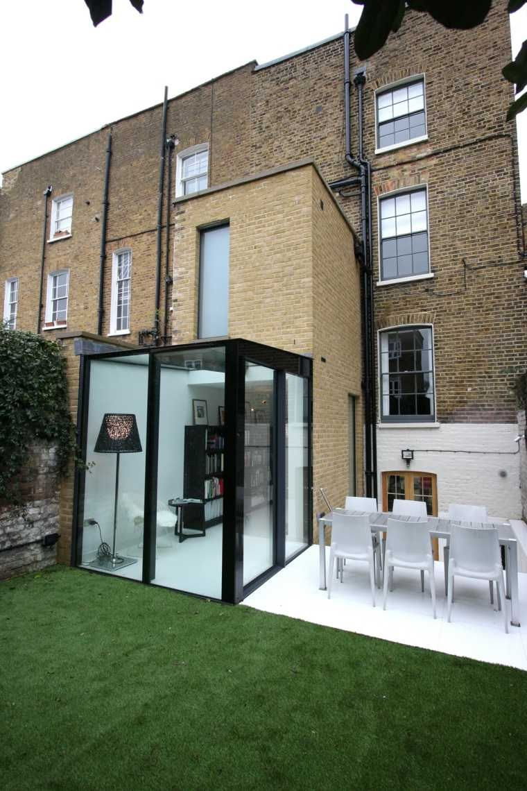 id e agrandissement maison 50 extensions esth tiques extension agrandissement maison et verre. Black Bedroom Furniture Sets. Home Design Ideas