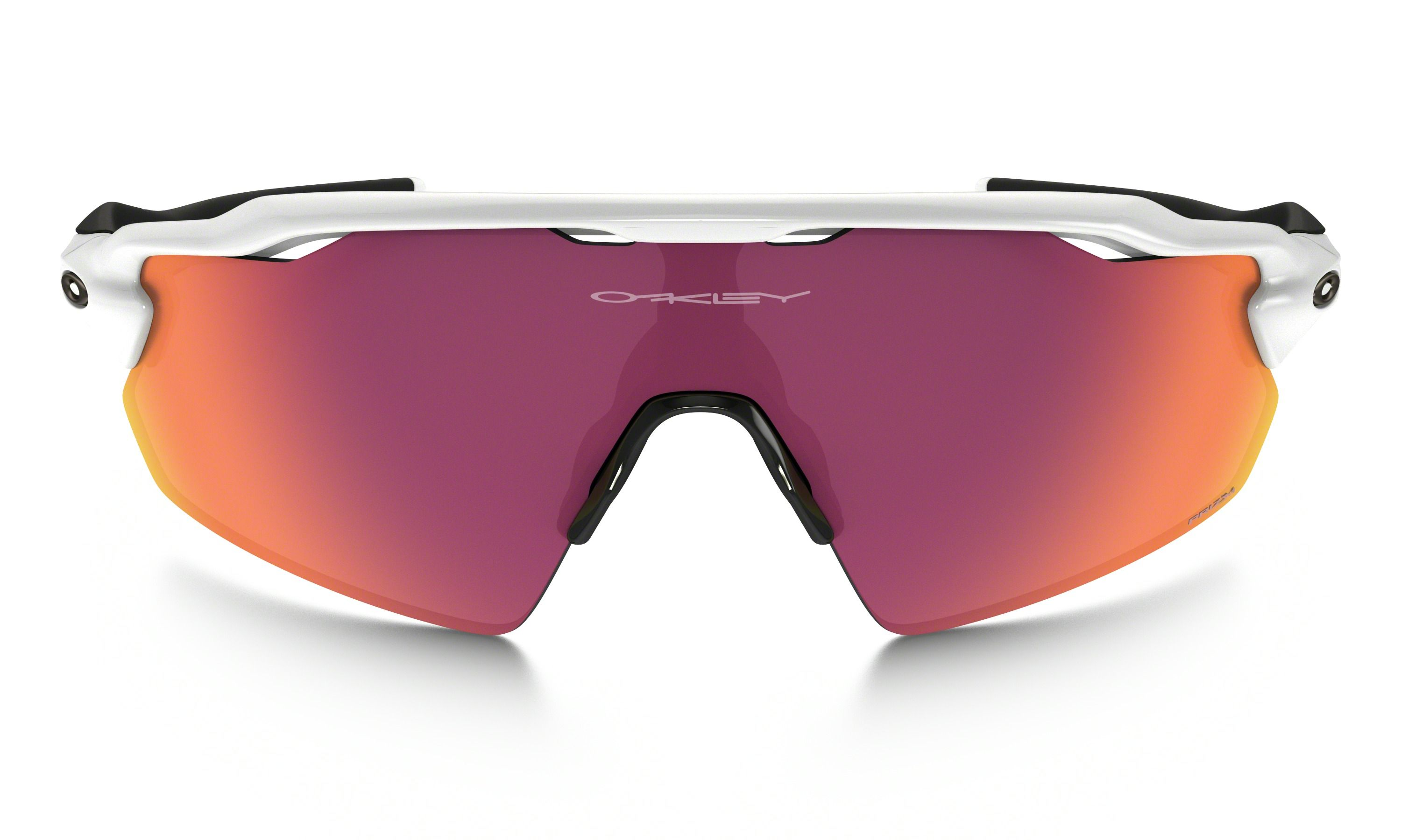 replica oakley baseball sunglasses  oakley prizm baseball (outfield) radar ev pitch in polished white / prizm baseball