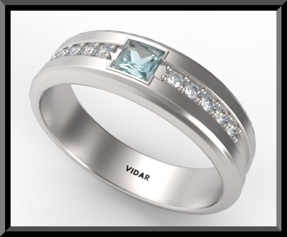 Mens Diamond Wedding Band White Gold Vidar Jewelry Unique Custom Engagement And Wedding Rings Mens Diamond Wedding Bands Diamond Wedding Bands Mens Wedding Bands White Gold