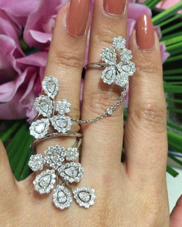 Fabulous Rings @davidmorrisjeweller !! @_khadija_dm !! #dubai ...