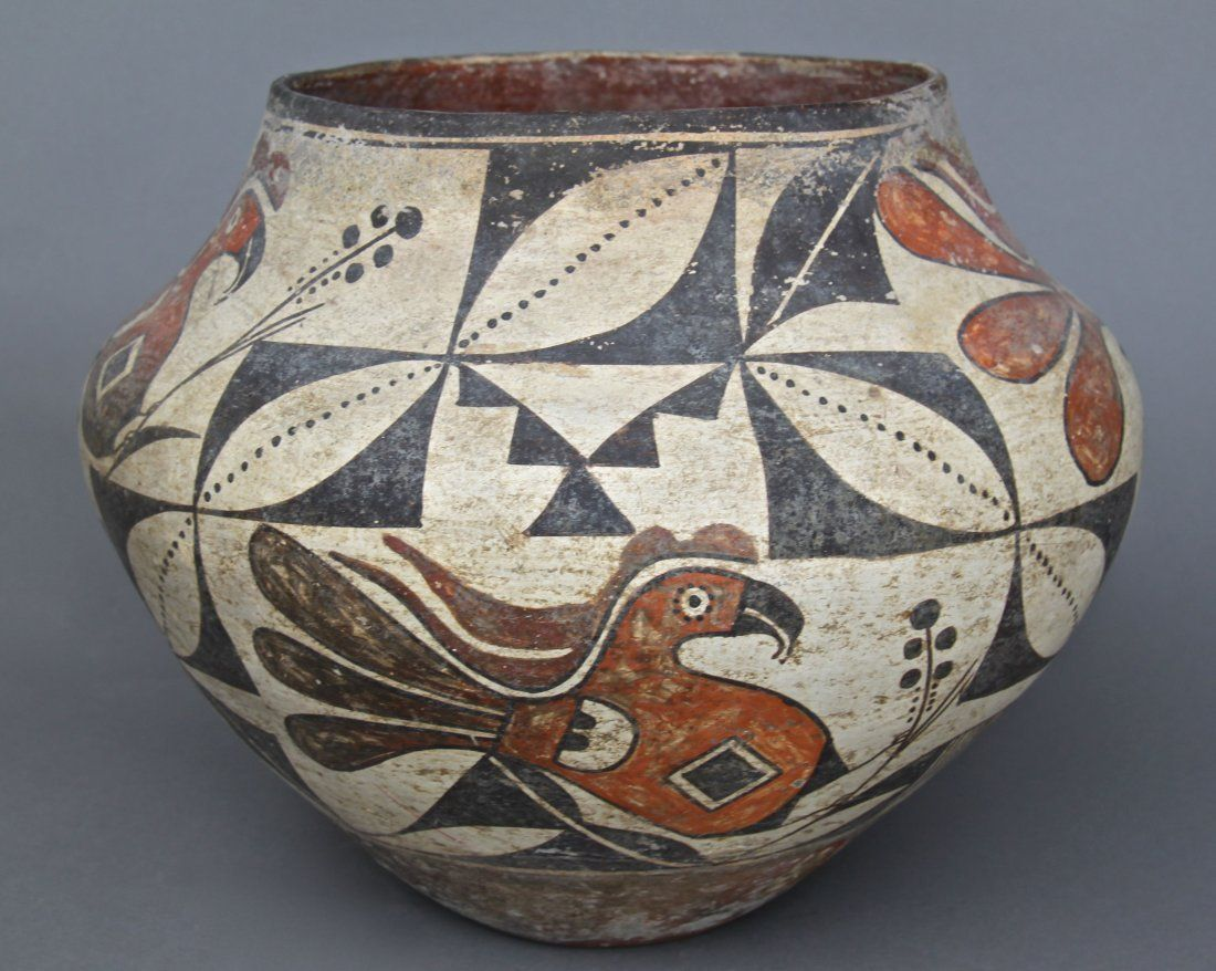 Ancient Native American Indian Southwestern Pottery Older