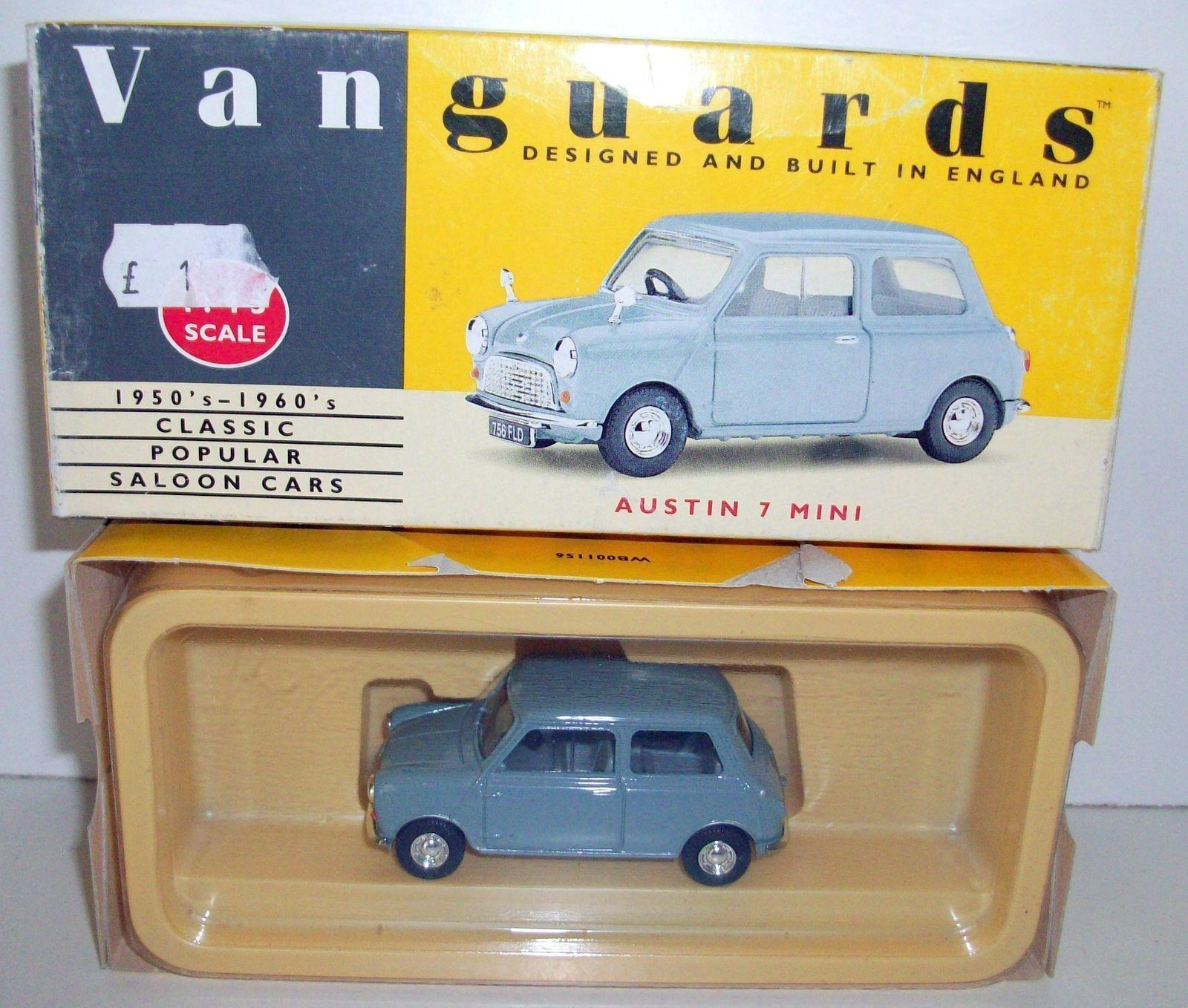 VANGUARDS 1/43 VA13003 GREY MINI | eBay | Corgi Vanguards Car ...