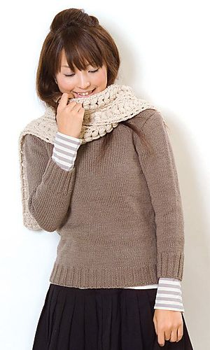 I like this scarf!  (Just in case any of my knitting/crocheting friends were wondering!)