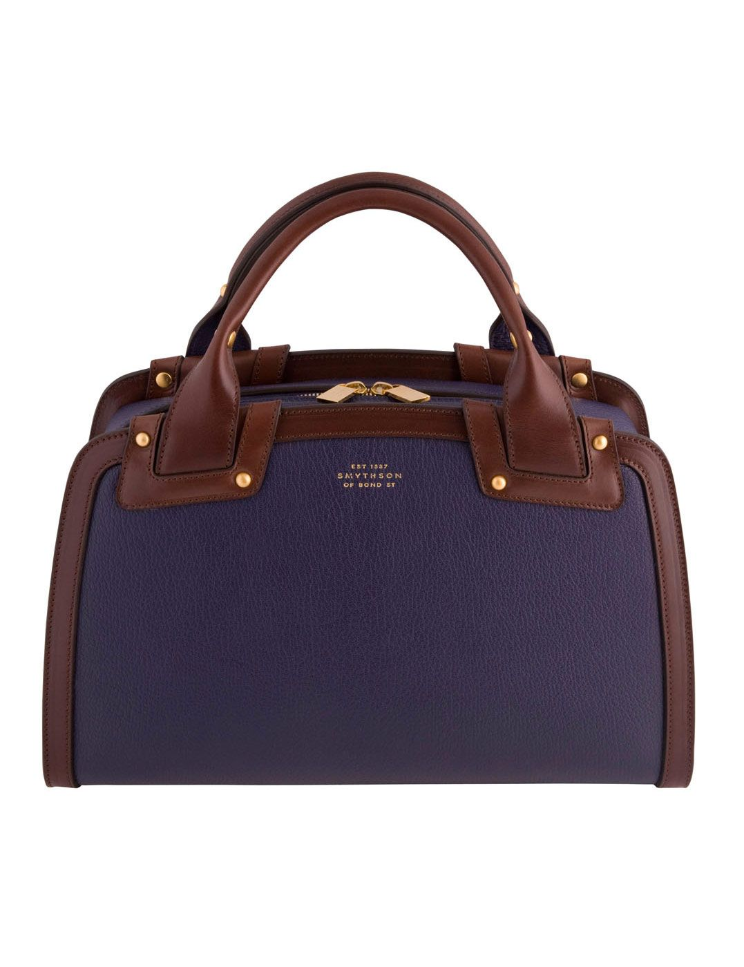 navy and brown- perfect combo
