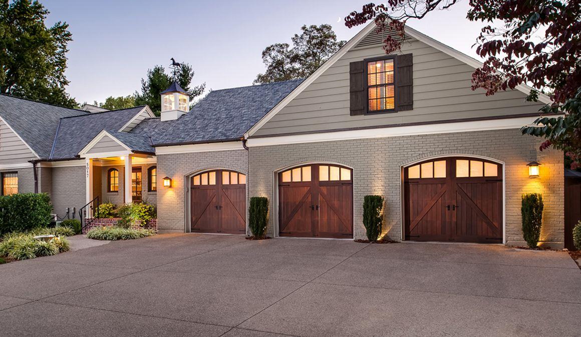 Custom Wood Garage Doors Clopay Garage Doors Pinterest Wood