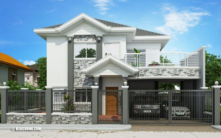 Double story elegant filipino house plan floor area square meters for families of high income levels this is recommended also best dream images rh pinterest